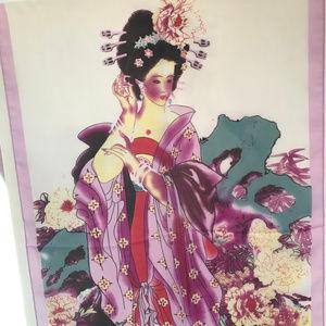 Accessories - New Geisha scarf pink New